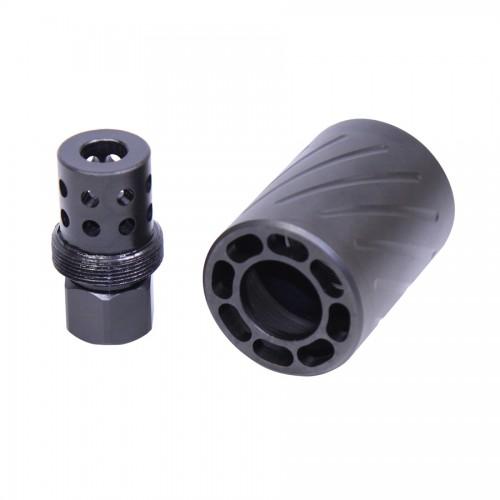Guntec AR 9mm Muzzle Comp w/ QD Shield (Micro Version)
