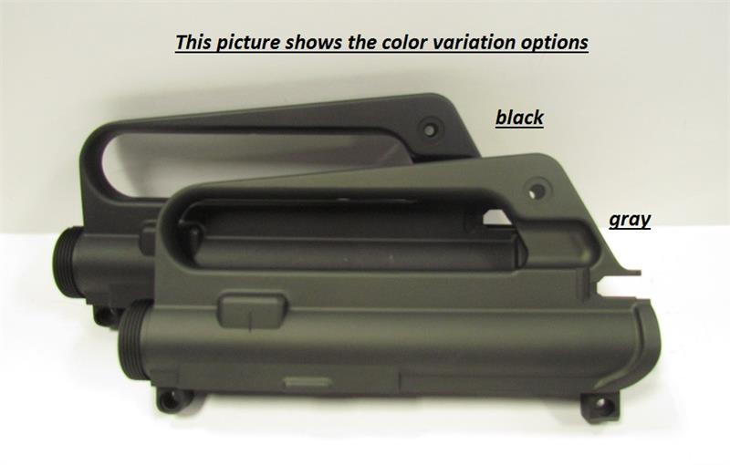 AR-15 A1 Slickside Upper Receiver - Black