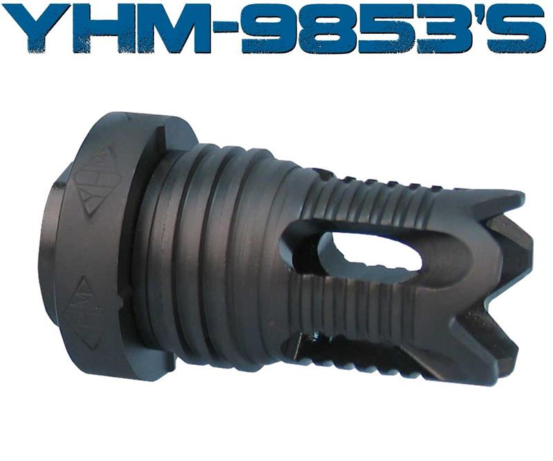 Yankee Hill 1/2x36 Phantom Flash Hider for our Wraith XL