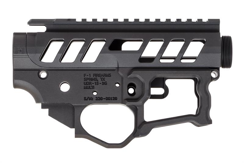 F 1 Firearms Udr 15 3g Style 2 Universal Skeletonized Lefty Receiver Set