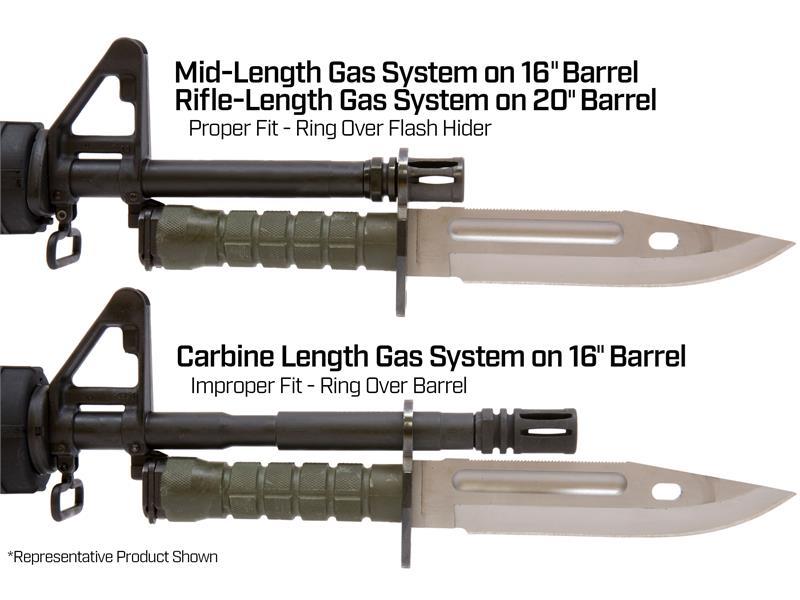 LAN-CAY M9 Tactical Knife & Scabbard USGI USA Made Military Surplus