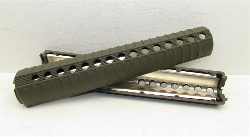 AR15 12'' Rifle Length A2 Round 2 Piece Handguard w/ Heat