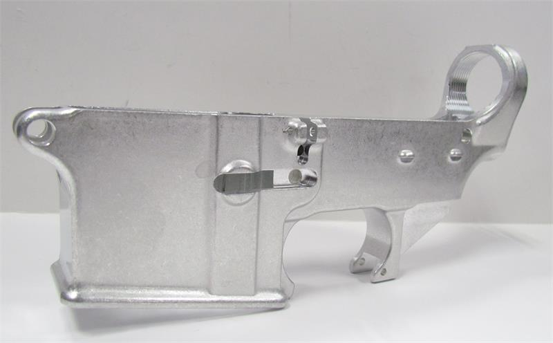 80% Forged AR15 Lower Receiver in the White