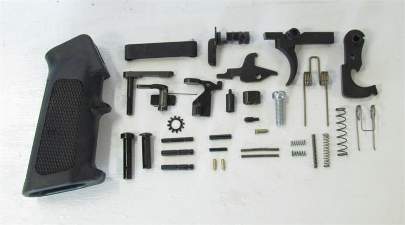 Luth-AR Complete Lower Receiver Parts Kit - M16 w/ Auto Sear & Pin
