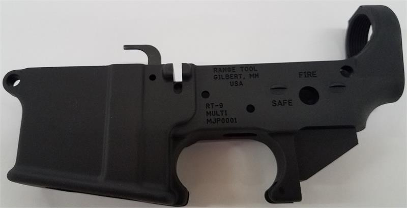 9MM Forged Glock Compatible Lower - Stripped