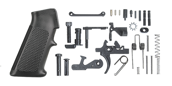 Rock River Arms Lower Receiver Parts Kit, Two Stage Trigger