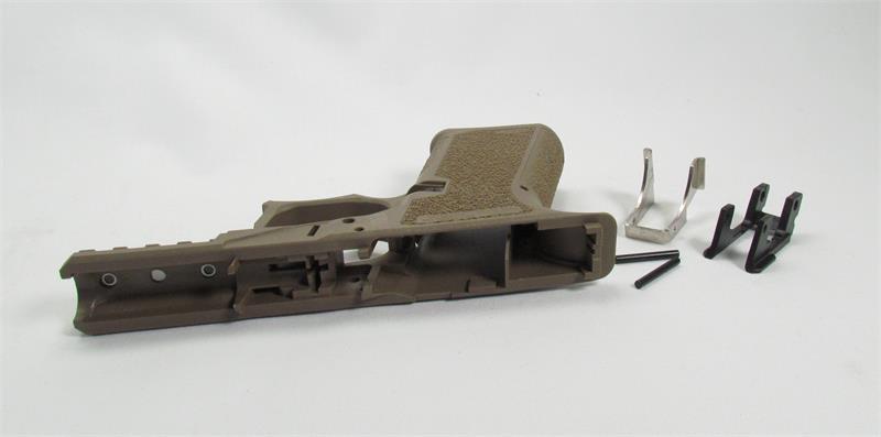 Polymer80 G19 PFC9 Serialized Frame for Glock 19/23-Flat
