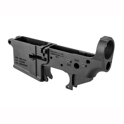 Brownells AR15 M16 A1 Lower Receiver - Gray