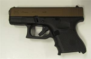 Glock 26 Gen4 9mm 35 Burnt Bronze Cerakote Slide