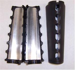 Ar15 A1 Triangle Carbine 2 Piece Handguard Black